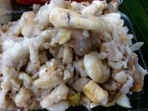 uovo di pesce del calamaro Fotografia Stock