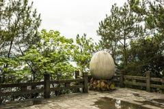 Uovo di pietra Immagini Stock
