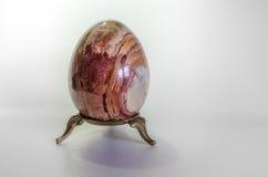 Uovo di pietra Fotografie Stock Libere da Diritti