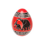 Uovo di pietra della steatite Immagine Stock