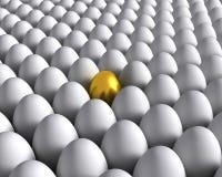 Uovo dorato Immagini Stock