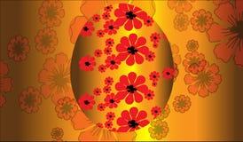 Uovo dorato felice di pasqua fotografia stock