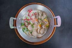 Uovo fritto in vaschetta Fotografia Stock Libera da Diritti