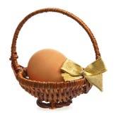 Uovo grezzo Fotografia Stock Libera da Diritti