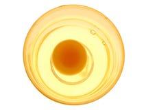 Uovo grezzo Fotografie Stock