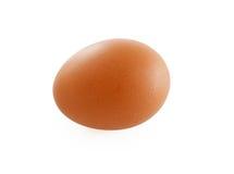 Uovo Isolato su priorità bassa bianca Immagini Stock Libere da Diritti