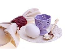 Uovo per la prima colazione Fotografia Stock Libera da Diritti