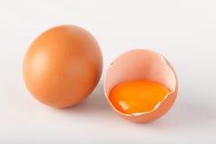 Uovo rotto Immagini Stock Libere da Diritti