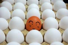 Uovo sveglio Fotografia Stock Libera da Diritti