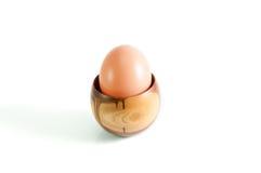 Uovo in tazza Fotografia Stock