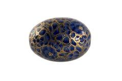 Uovo verniciato, isolato Fotografia Stock