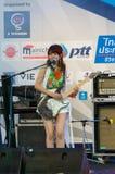 Uozumi Yuki (гитара) от группы LoVendor Стоковое Изображение