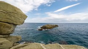 Upływ klamerka dużo wysyła iść w oceanie zbiory wideo