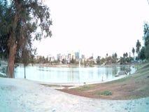 Upływ Los Angeles MacArthur park zdjęcie wideo