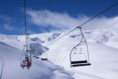 χειμώνας όψης σκι θερέτρο&up Στοκ Εικόνα