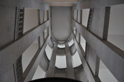 Up. Shot taken on my short trip in Munich Germany inside a building Royalty Free Stock Photography