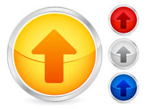 Up arrow button Royalty Free Stock Photography