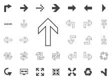Up arrow icon. Arrow  illustration icons set. Up arrow icon. Arrow  illustration icons set Stock Image