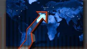 Up arrow stocks Royalty Free Stock Photo