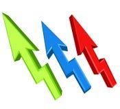 Up arrows Stock Photos