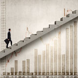 Up the career ladder Stock Images
