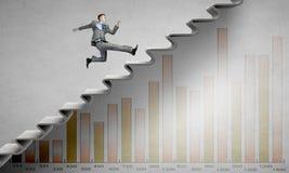 Up the career ladder Stock Photos