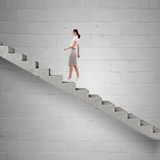 Up the career ladder Royalty Free Stock Photos