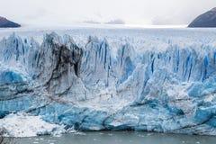 Up close: Detailed look at Argentina`s Perito Moreno Glacier Royalty Free Stock Photo