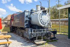Florida Railroad Museum Train royalty free stock photography