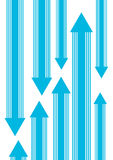 Up and down Arrows. Background Royalty Free Stock Images