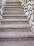 Up or down the stairs royalty free stock image