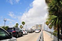 Up drawbridge in Florida Stock Photography