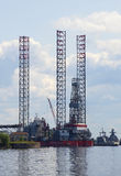 Up drilling rig  Royalty Free Stock Photography