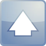 Up navigation icon Stock Image