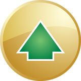 Up navigation icon Royalty Free Stock Photos