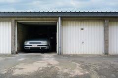 Up-and-over garage door Stock Image
