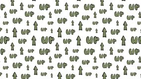 Up seamless texture green color