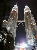 Petronas Twin Tower royalty free stock photos