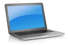 Up-to-date laptop Royalty Free Stock Images