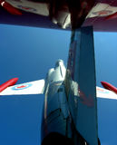 Up to the end of the sky. CF-104 Starfighter Royalty Free Stock Photos
