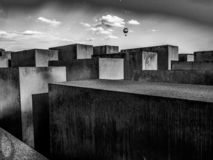 Up to freedom - holocaust memorial Berlin royalty free stock photo
