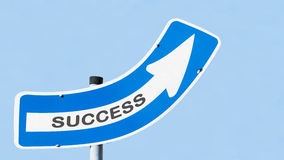 Up to success Royalty Free Stock Photography