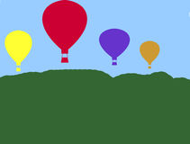 Up,Up,and Away Royalty Free Stock Image