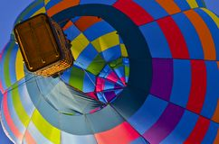 Multi-colored Hot Air Balloon Stock Photos