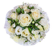 Up view of bright flower wedding bouquet Stock Photos