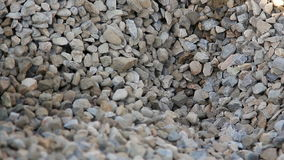 Up view of gravel enterprise working. stock footage