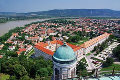 Free Up View Of Esztergom Royalty Free Stock Photography - 10368027