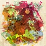 upaćkana tło farba Zdjęcia Stock