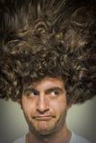 Upaćkany Kędzierzawy włosy Fotografia Stock