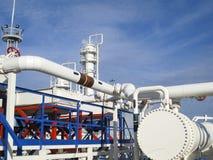 Upałów exchangers w rafinerii Gorącej benzyny lotniczy cooler lotniskowych tła Bequia karaibskich e grenadyn międzynarodowy wysp  Zdjęcia Royalty Free